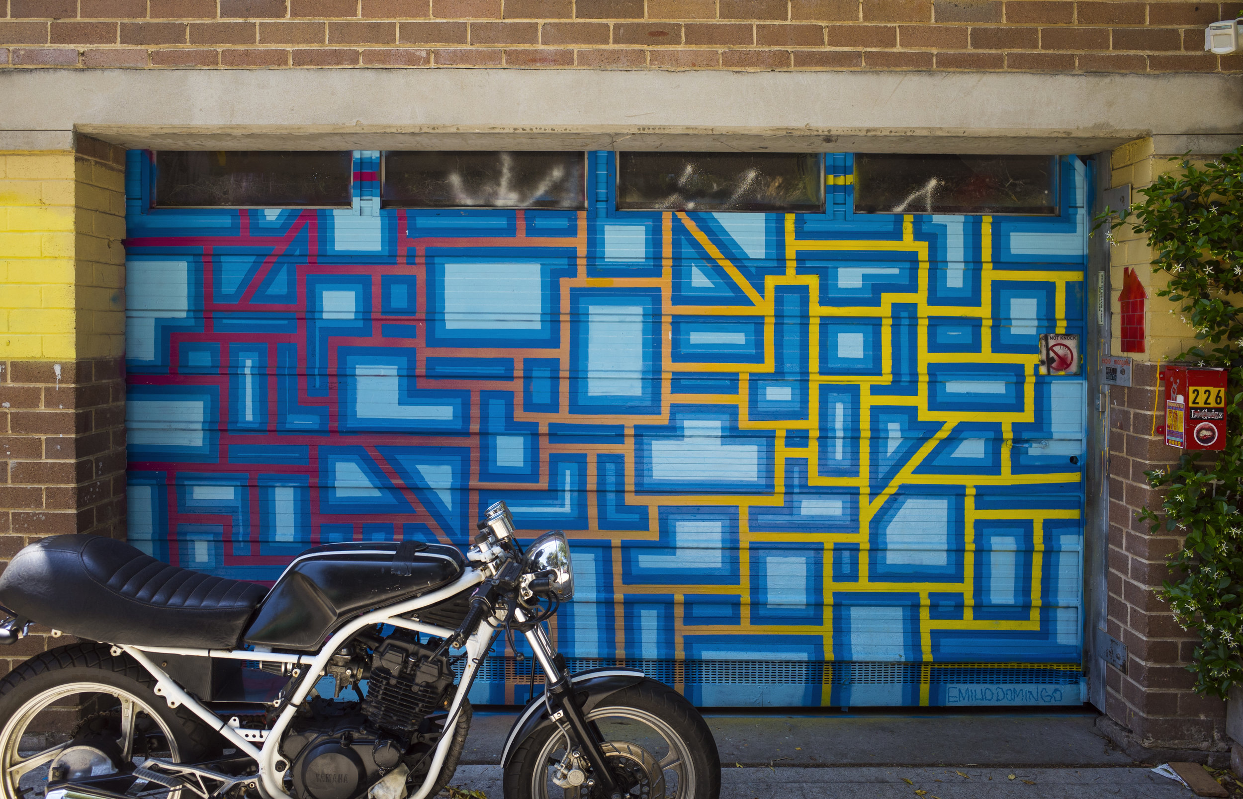 Alpha House Artist Co-Operative, 2017   226 Union St, Newtown NSW 2042