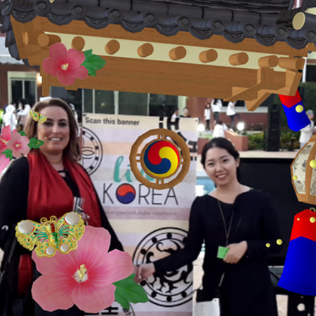 Live! Korea - Sharing Korean culture in Morocco with AR