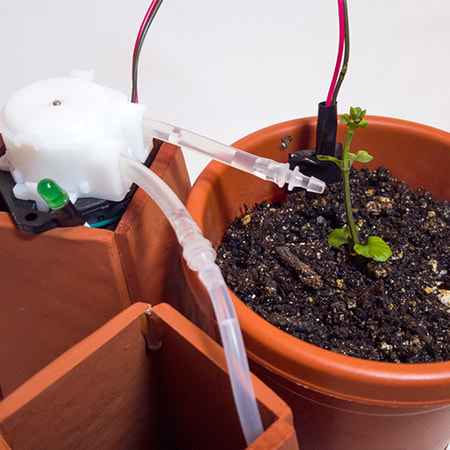 Telepot - Connected plant pots for remote co-gardening