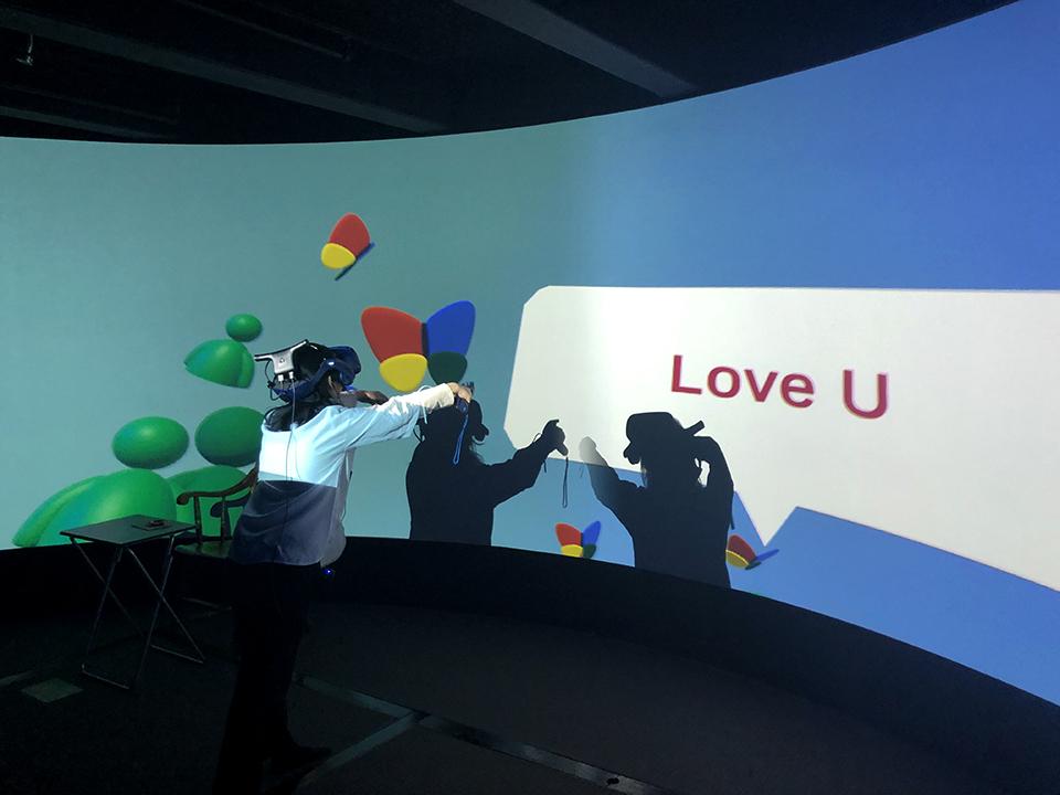 Performance at Harvard Immersive Visualization Lab (Cambridge, MA)