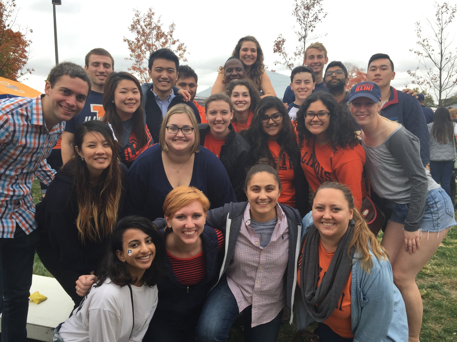 Alumni and current Enactus members joined together to celebrate Homecoming Weekend 2015