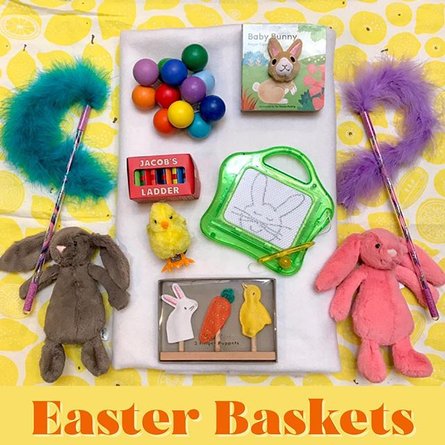 Need some cute gifts to go with your chocolate eggs? We've got you covered when it comes to filling up those Easter baskets for the little ones in your life, from locally handmade magic wands to soft stuffed bunnies & plenty more!⁣ .⁣ .⁣ .⁣ .⁣ #easterbaskets #easter #eastergifts #easterbunny #giftsforkids #babygifts #basketfilling #springhassprung #shoplocal #shopsmall #rubysgarden #shopoakland  #easterbasket #happyeaster #spring #bunny