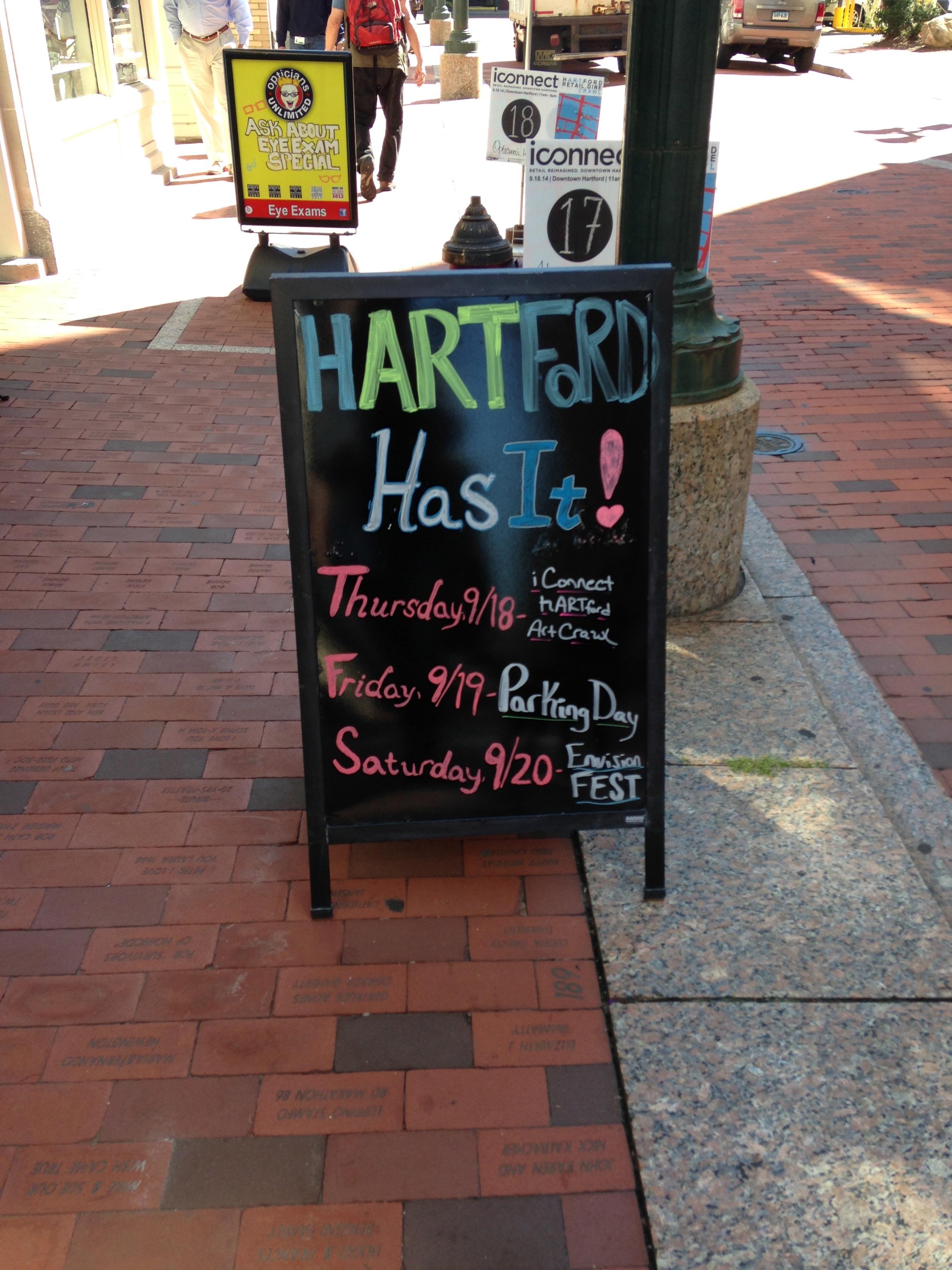 Weekend festivities in Hartford