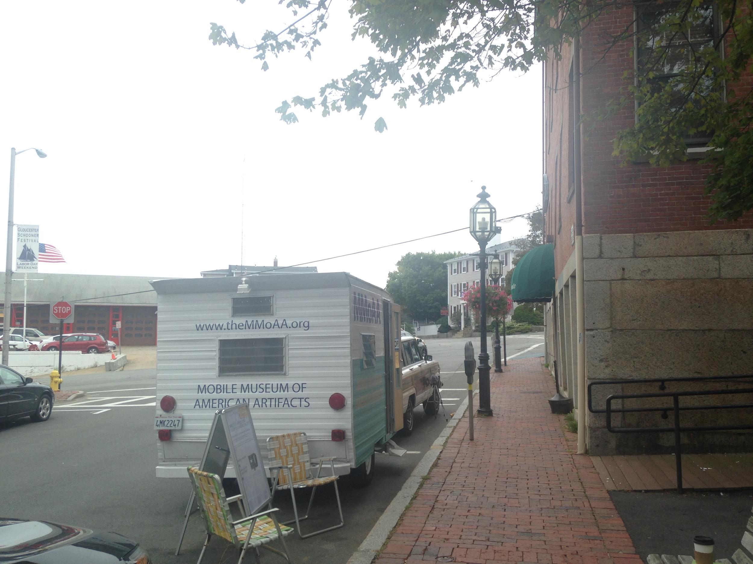 Main Street on a Sunday morning