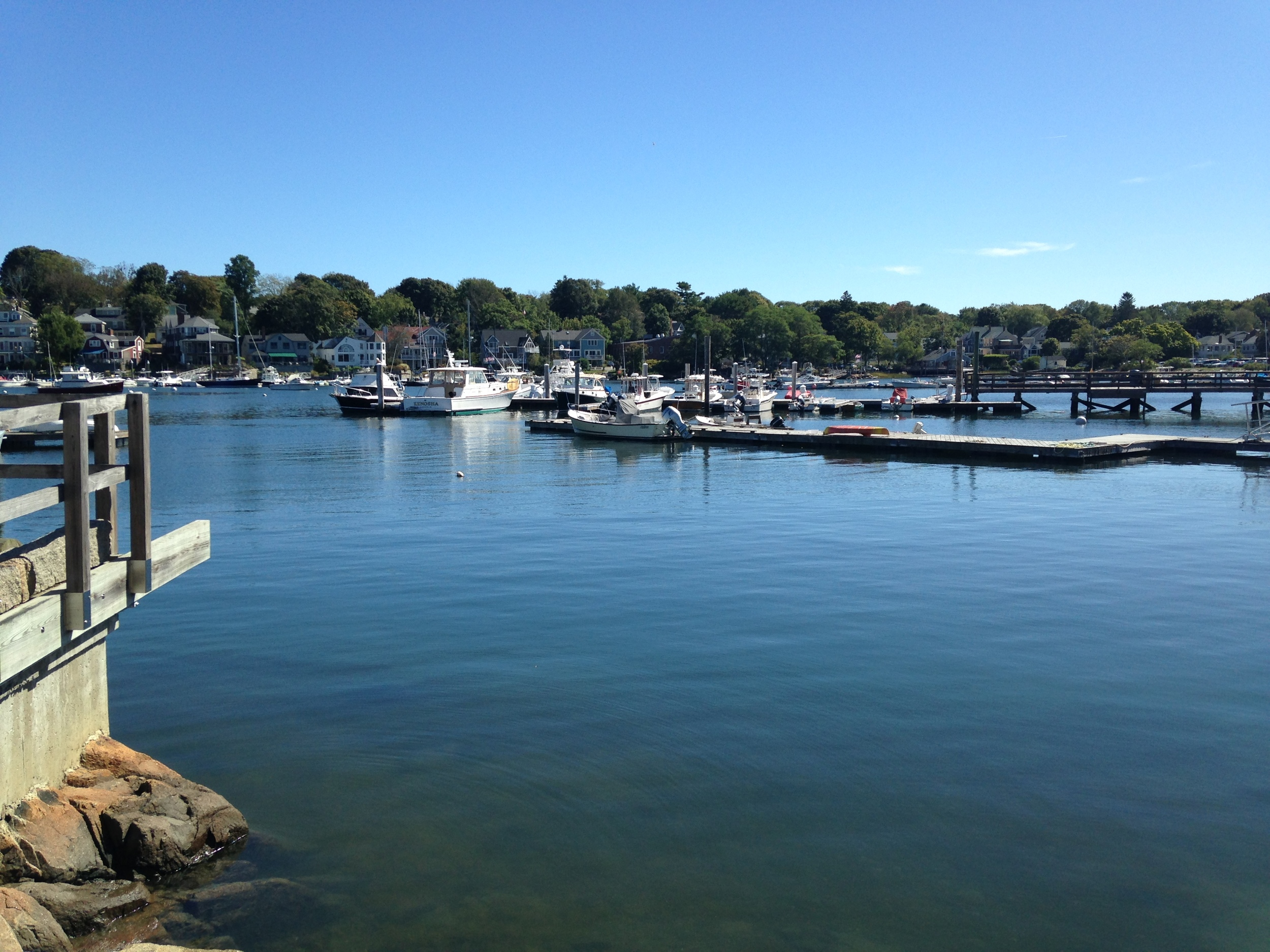 View from Rocky Neck