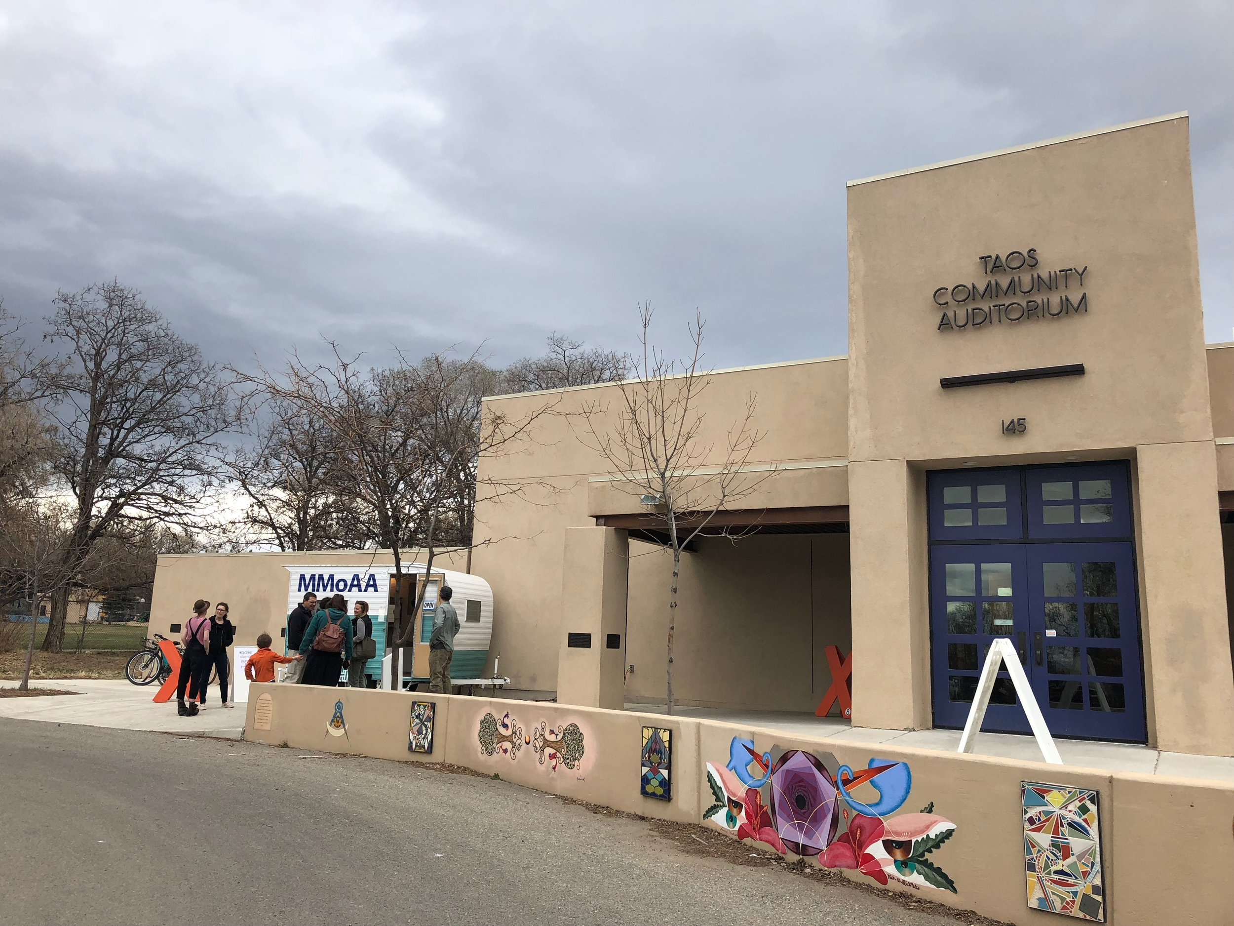Taos Center for the Arts, Water is Community Installation Opening