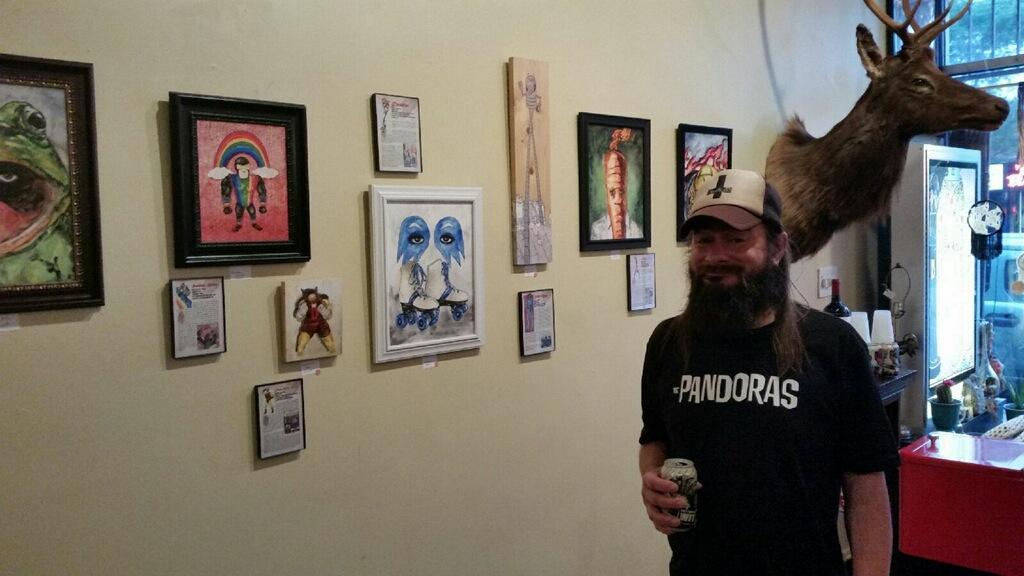 Me and comic book portraits