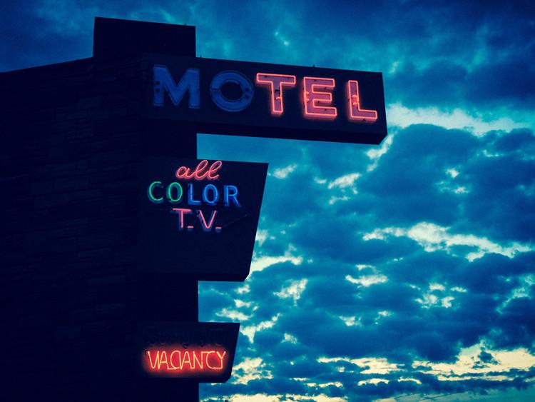 "All Color TV   18"" x 24"" color print  2014"