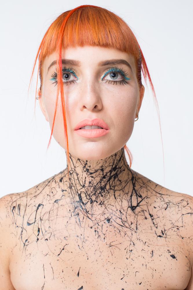 Photographer: Joshua Spencer  Make-up: Marlaine Reiner  Body-art: Cameron Helm
