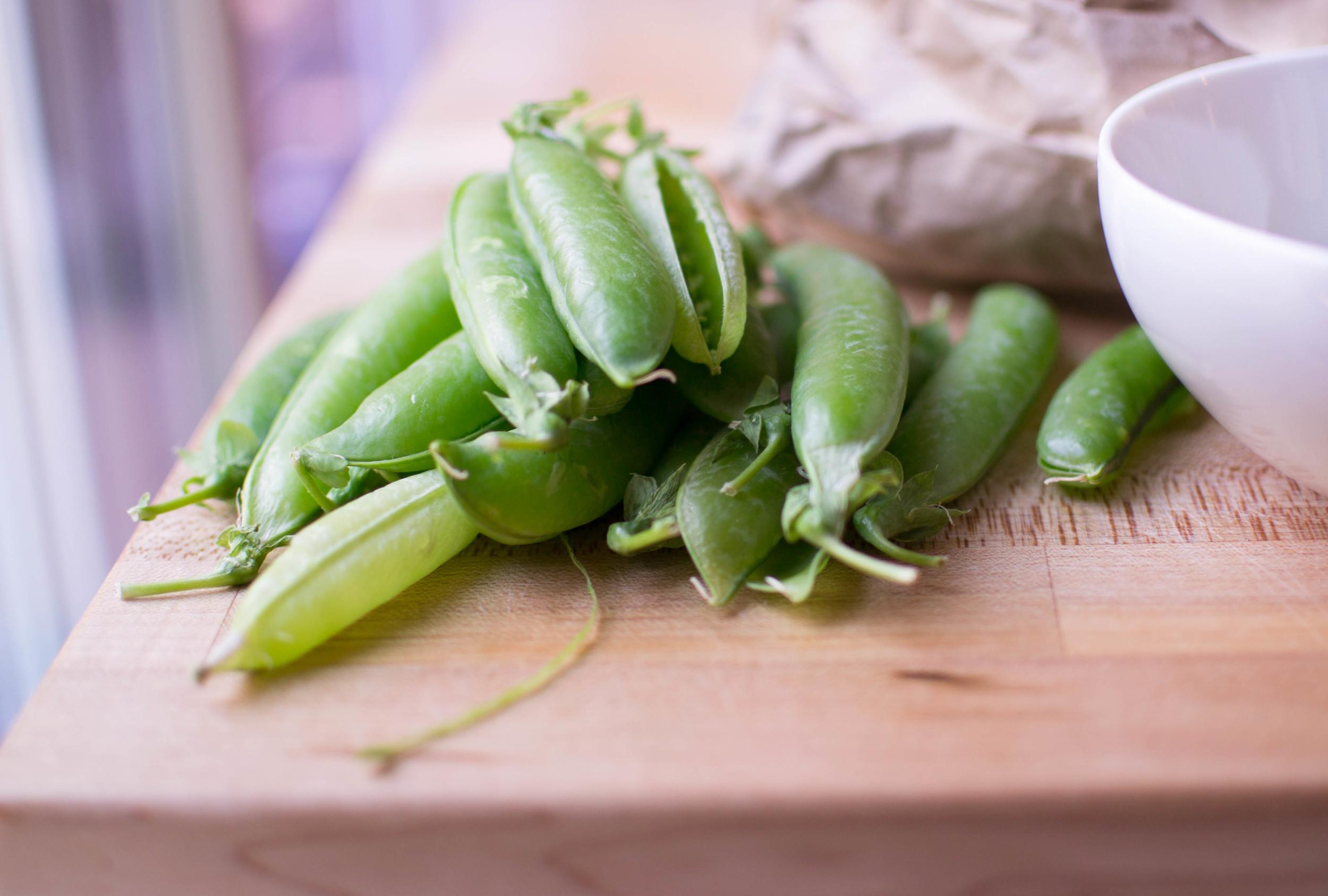 Snap Peas, Unadorned