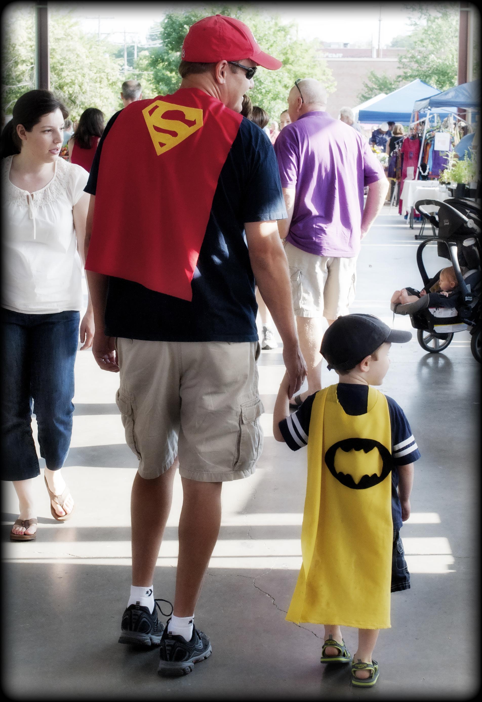 Durham_FarmersMarket_SuperMan&Batman_5262012.jpg