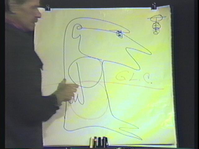 Diagram # 145 video grab: Gut Level Consciousness