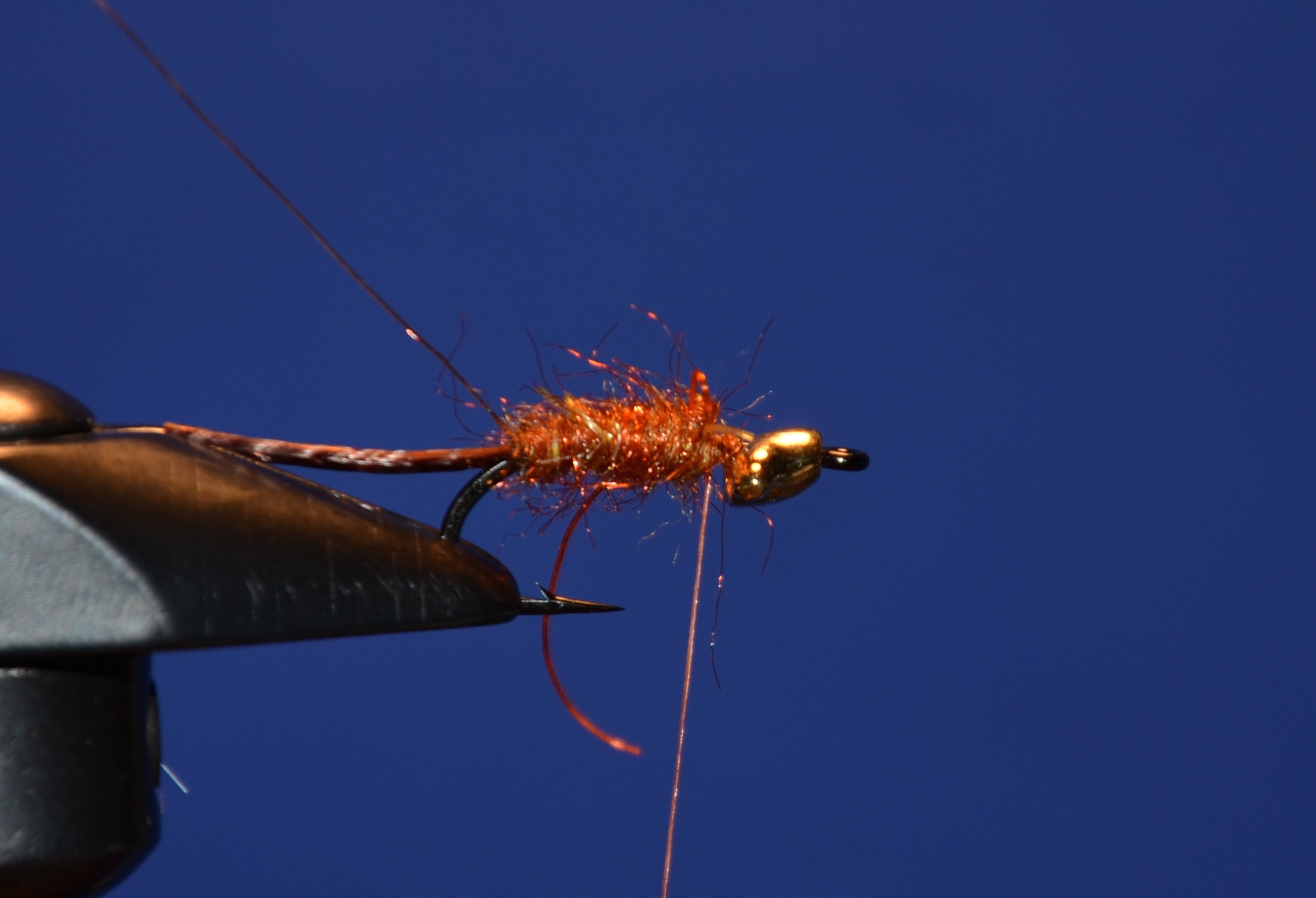 Tie in the small wire and dub body.