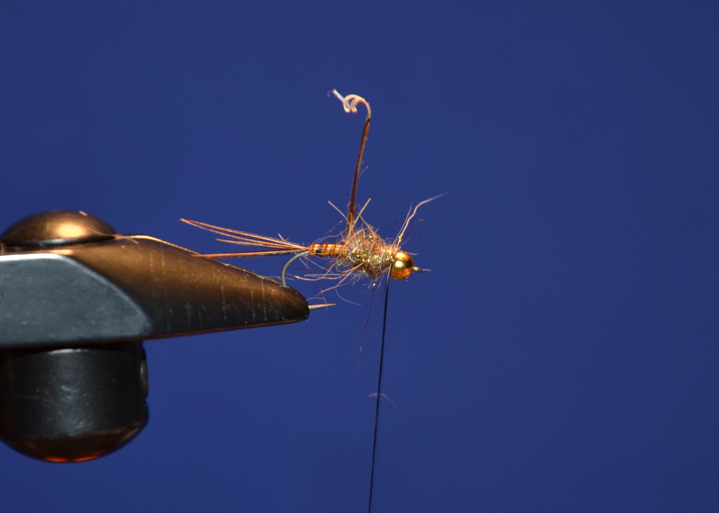 mix up some hare's ear and the Ice dub pheasant tail. and dub thorax.