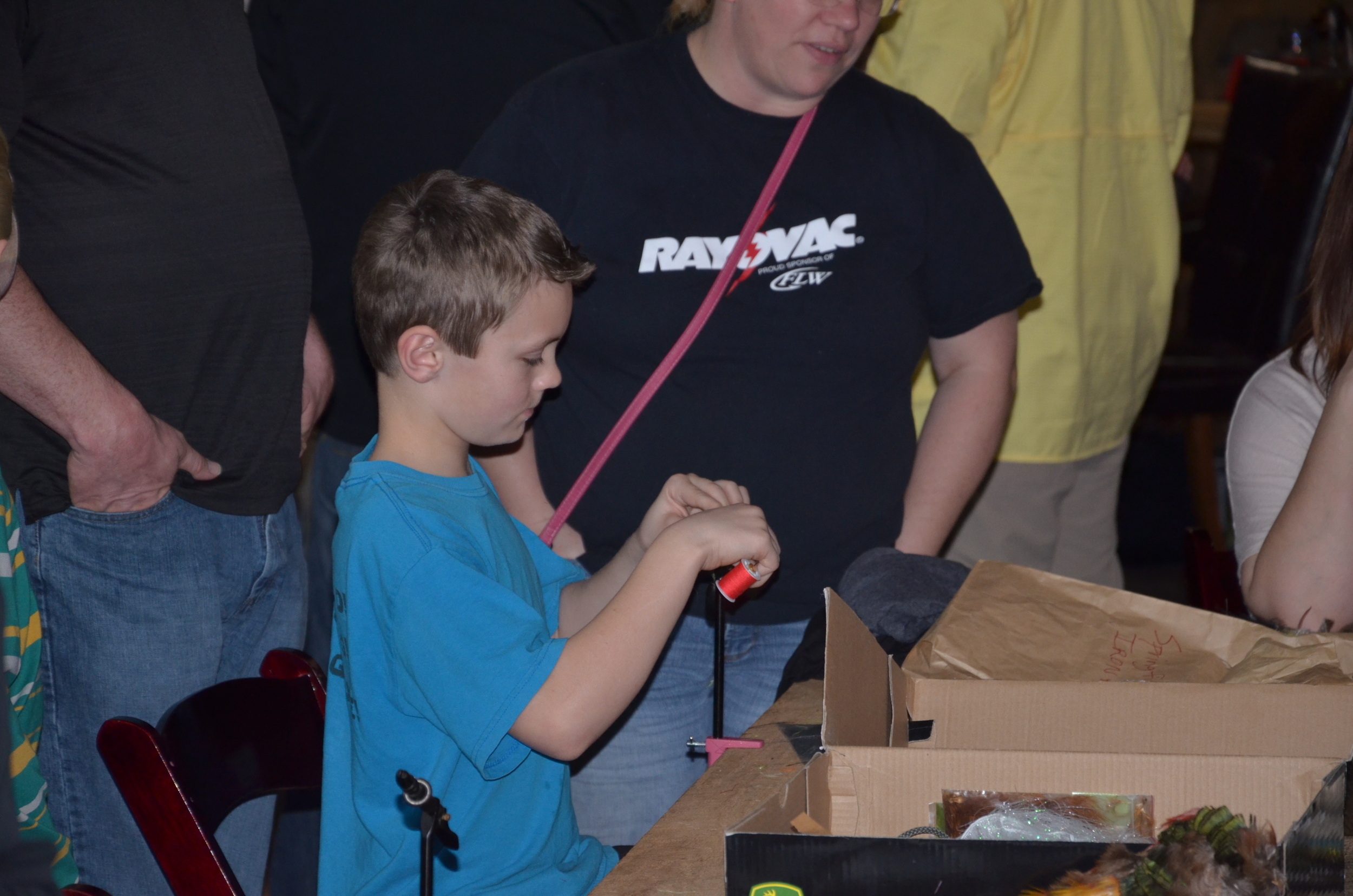Little Man getting done on the Vise!