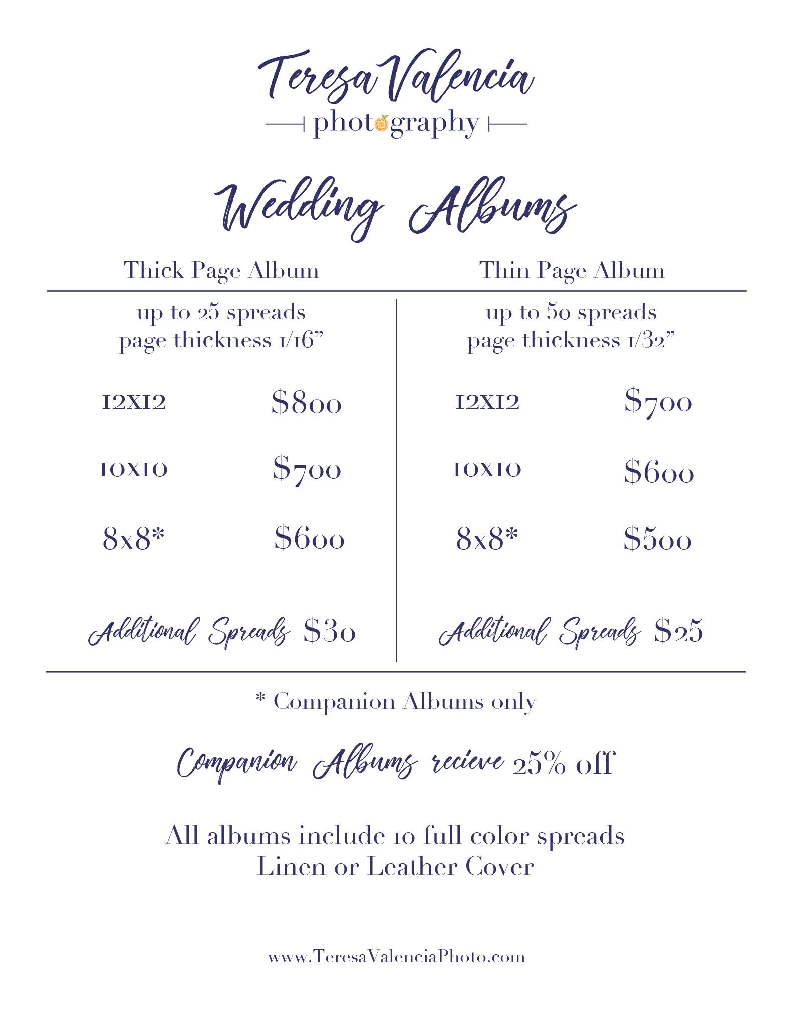 Album-Pricing_web.jpgWedding Album Pricing from Teresa Valencia Photography