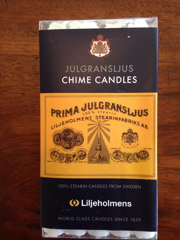 Chime Candles in Red or White - (Box of 15) - $8.00