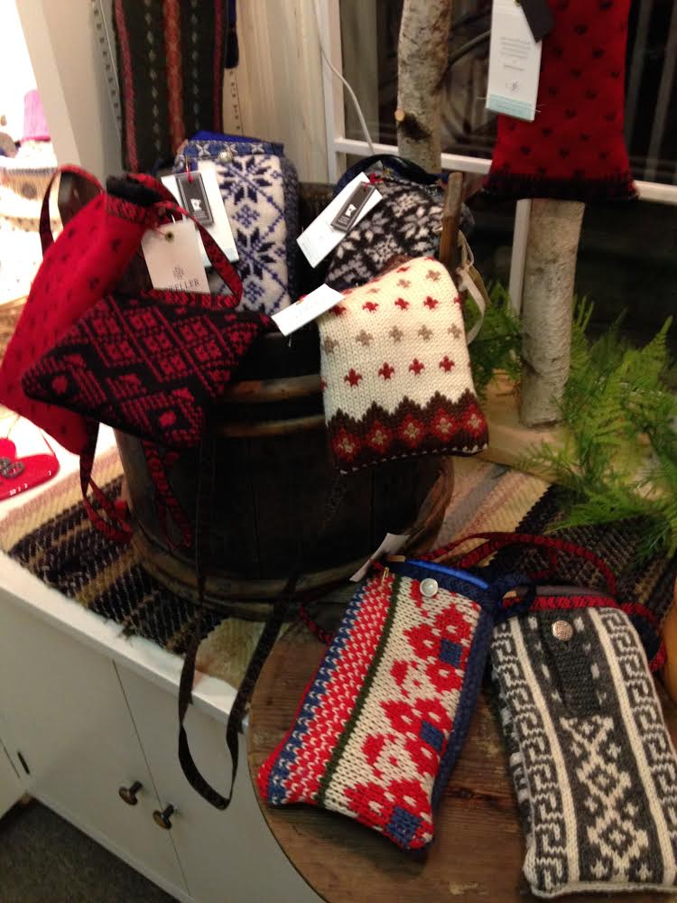 Scandinavian Purses - Upcycled from Nordic sweaters - $35