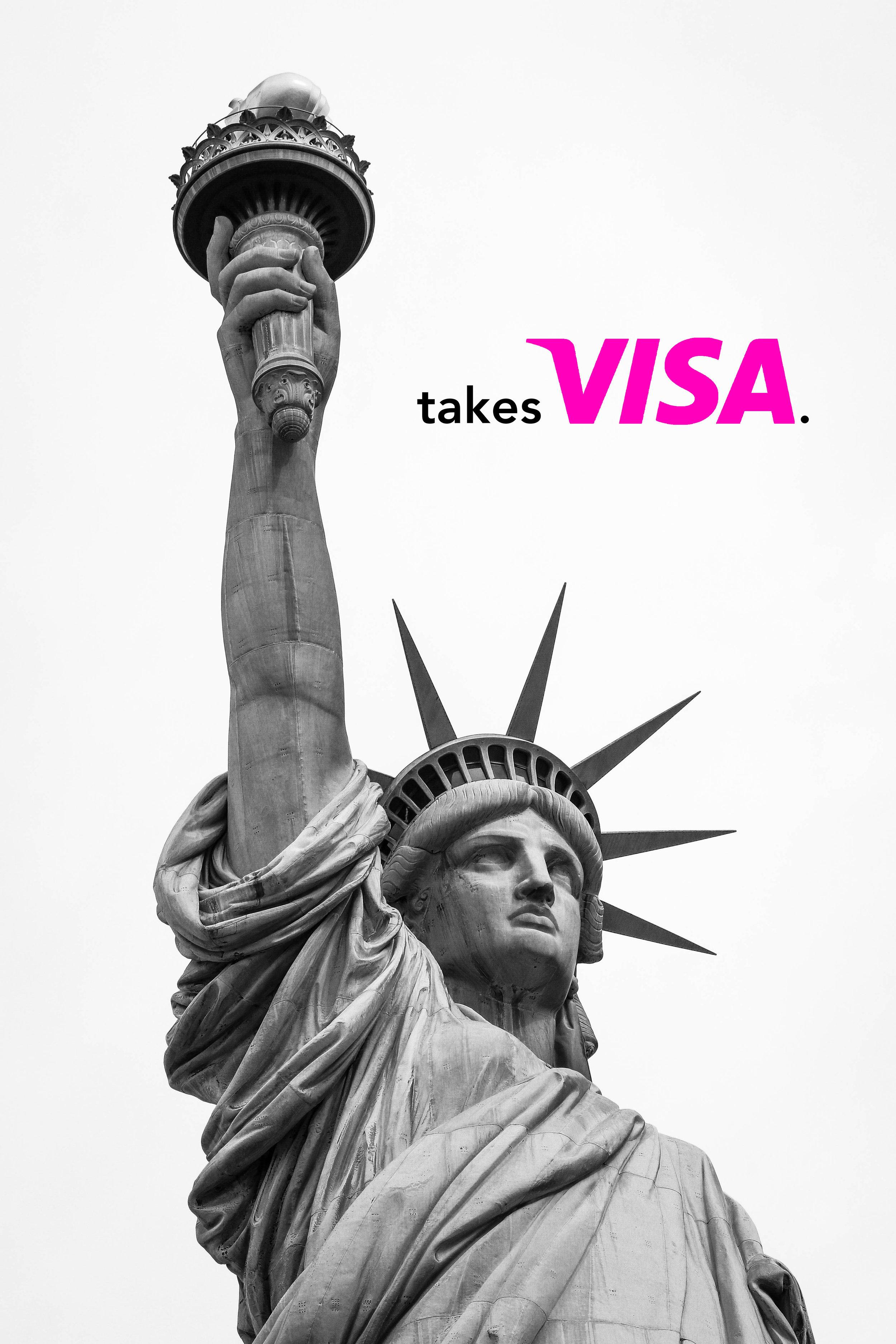 mel blanchard gong ad campaign takes_visa_statue.jpg