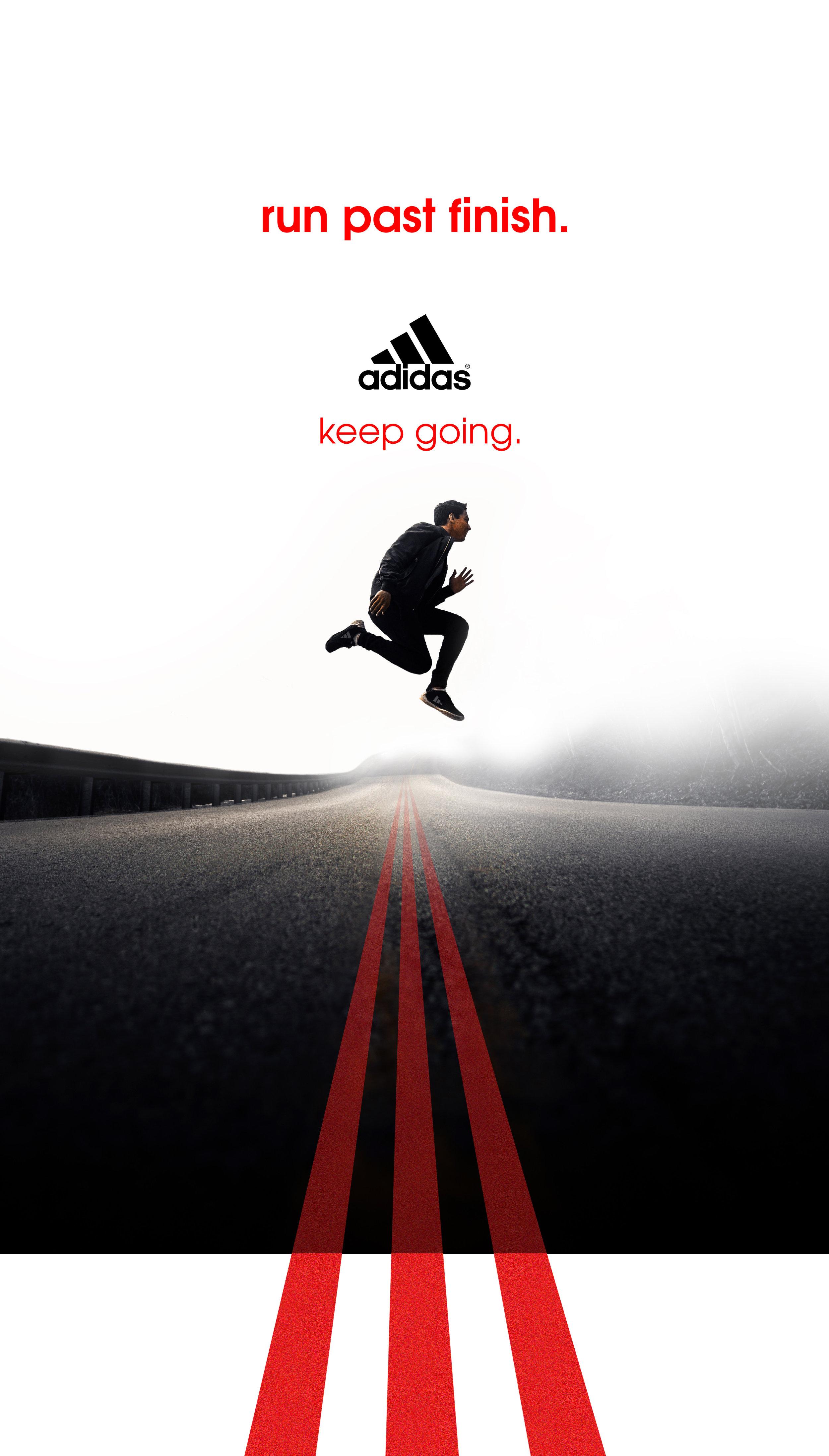 Adidas Ad Campaign Run Past Finish Mel Blanchard Gong.jpg