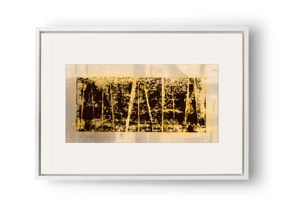 Broken Boogie I - Pigment on Canvas20.5x10.5cm