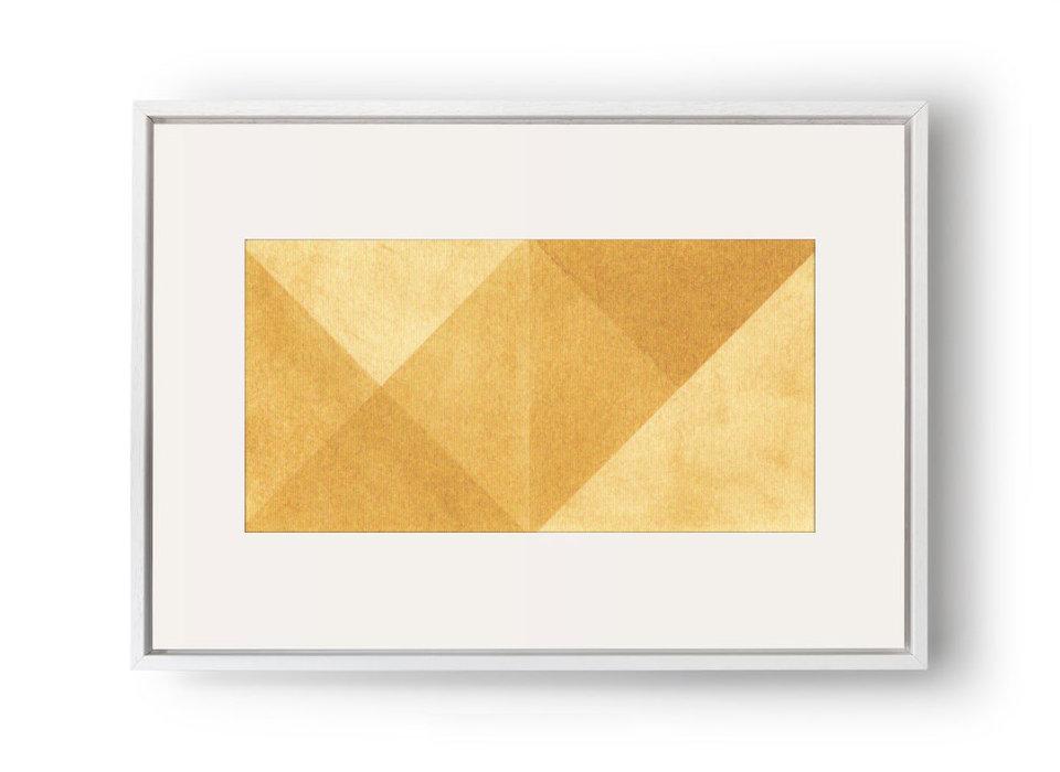 Triangular - Pigment on Canvas20.5x10.5cm