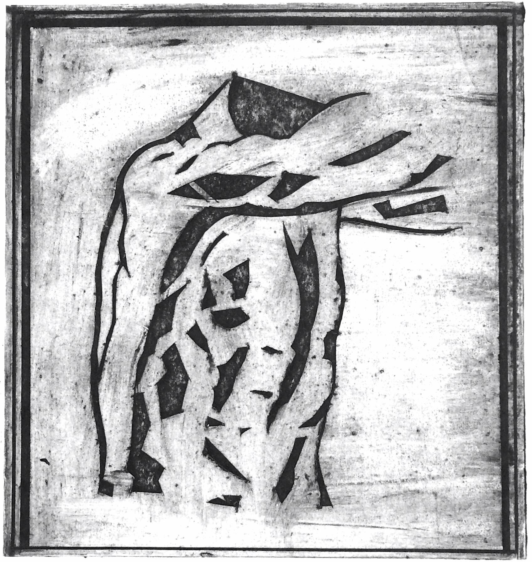 Male Torso III - Ink on Paper50x50cm