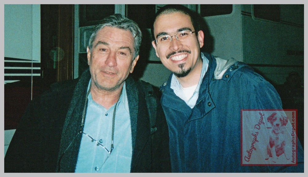 Robert De Niro and Mike Fulop