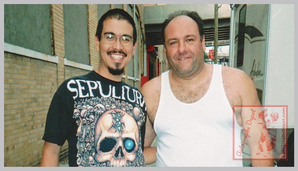 James Gandolfini and Mike Fulop