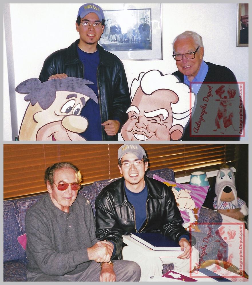Bill Hanna & Joe Barbera and Mike Fulop