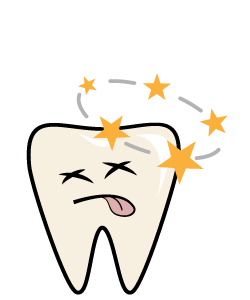 Dental Emergency:Knocked-out Tooth - Must be treated with care and urgency.Swelling, pain, excessive bleeding from the tooth socket or gum and possibly lips and cheek.First Aid for an AbscessIf the tooth is DIRTY, rinse very gently in slow running water for NOT TOO LONG.DO NOT SCRUB IT or remove any fragments of tissue that may be attached to the root surface.Gently insert and hold the tooth in its socket.If it is not possible to insert the tooth in the socket, place the tooth in a cup of MILK.If there is bleeding or swelling, apply a cold compress. Ice for swelling and pressure for bleeding.CALL US IMMEDIATELY
