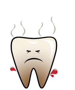 Dental Emergency:Abscess - Signs and symptoms include pain with sudden onset, swelling, pus near a tooth or gum pocket.Bad taste and bad breath.Difficulty opening your mouth..The swelling can spread to the entire face and neck very quickly if left untreated.First Aid for an AbscessWash your mouth out with warm water.Take a painkiller such as Paracetamol or Nurofen.Call us IMMEDIATELY for an EMERGENCY appointment.
