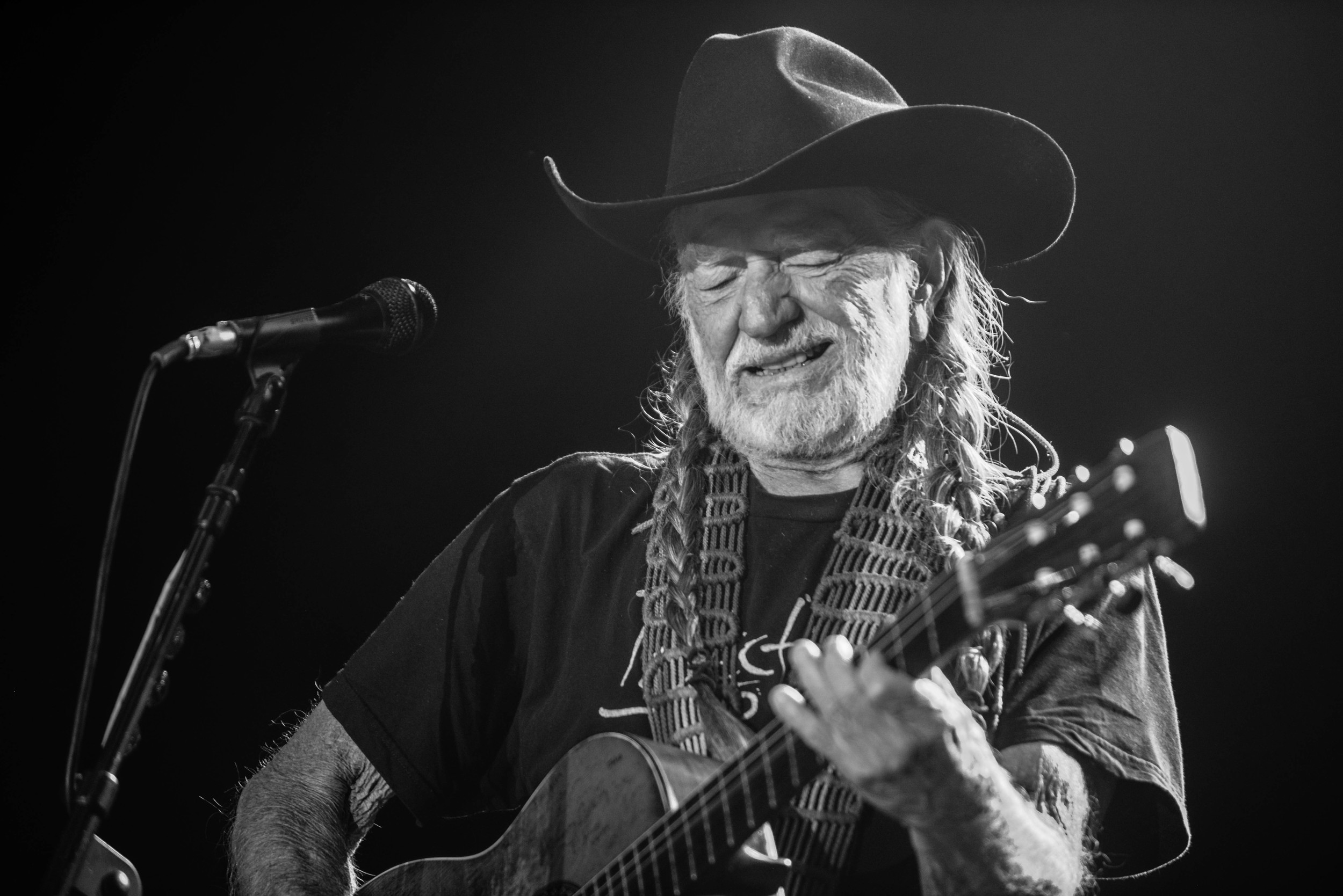 Willie Nelson. 'Nuff said.
