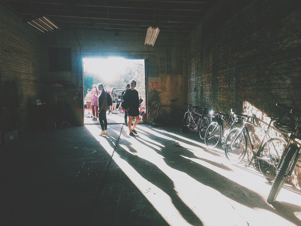 Freewheel Cycling: Gainesville's newest Bicycle Collective scheduled to open in May hosted a Valentines Day themed Alleycat Race.