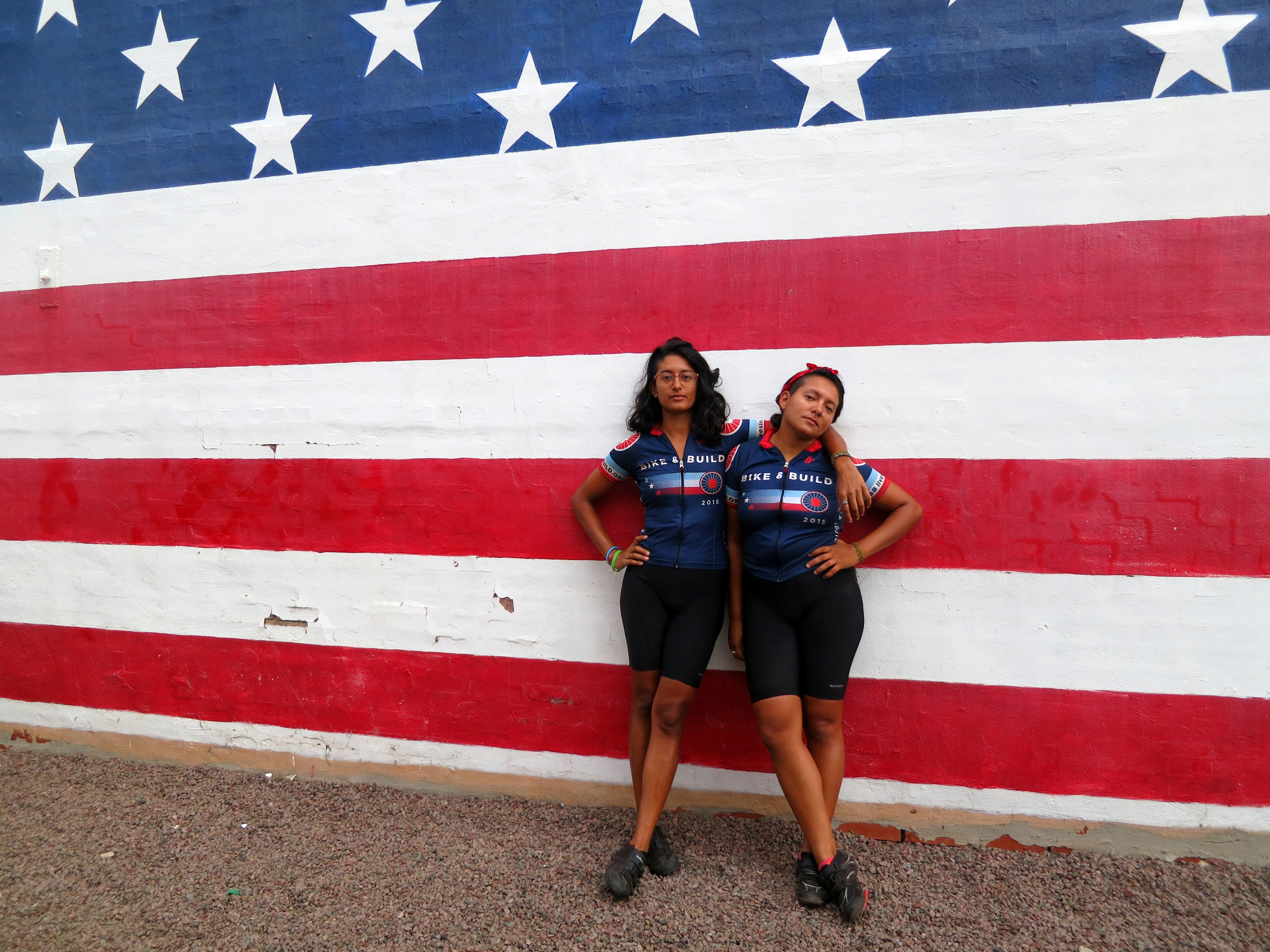 Two sisters take on the USA by bicycle
