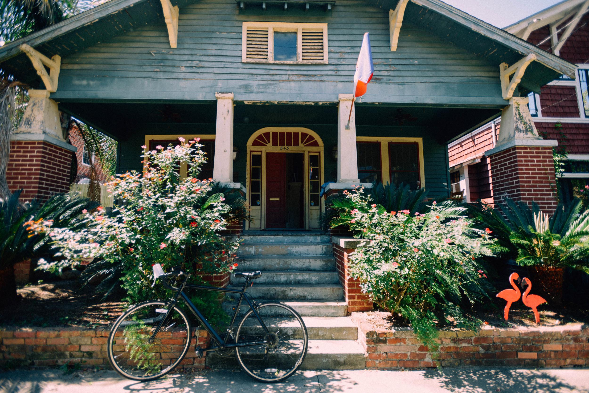 Maya's house.