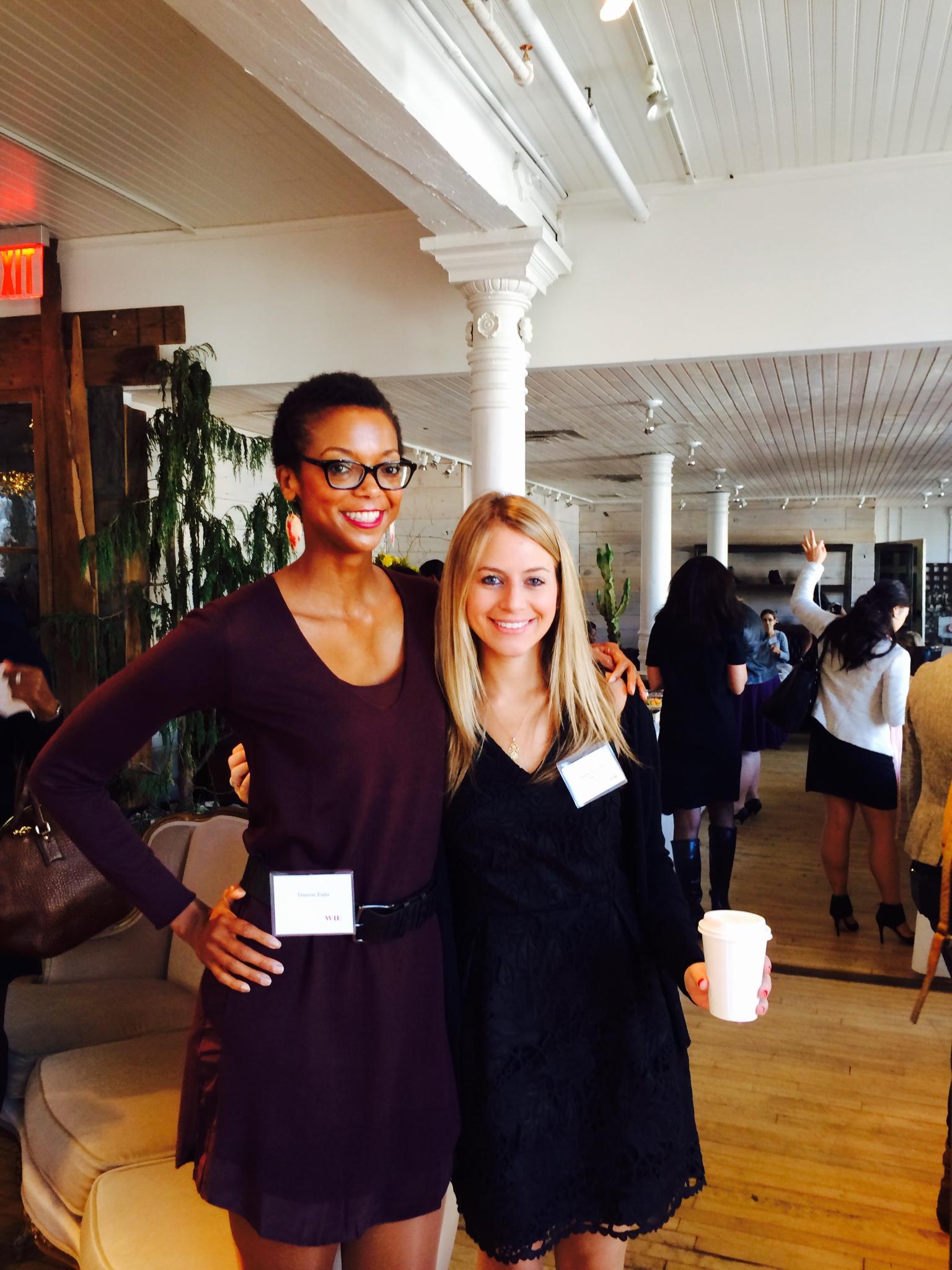 With Danielle Nazinitsky, of the blog  SoHo Strut .