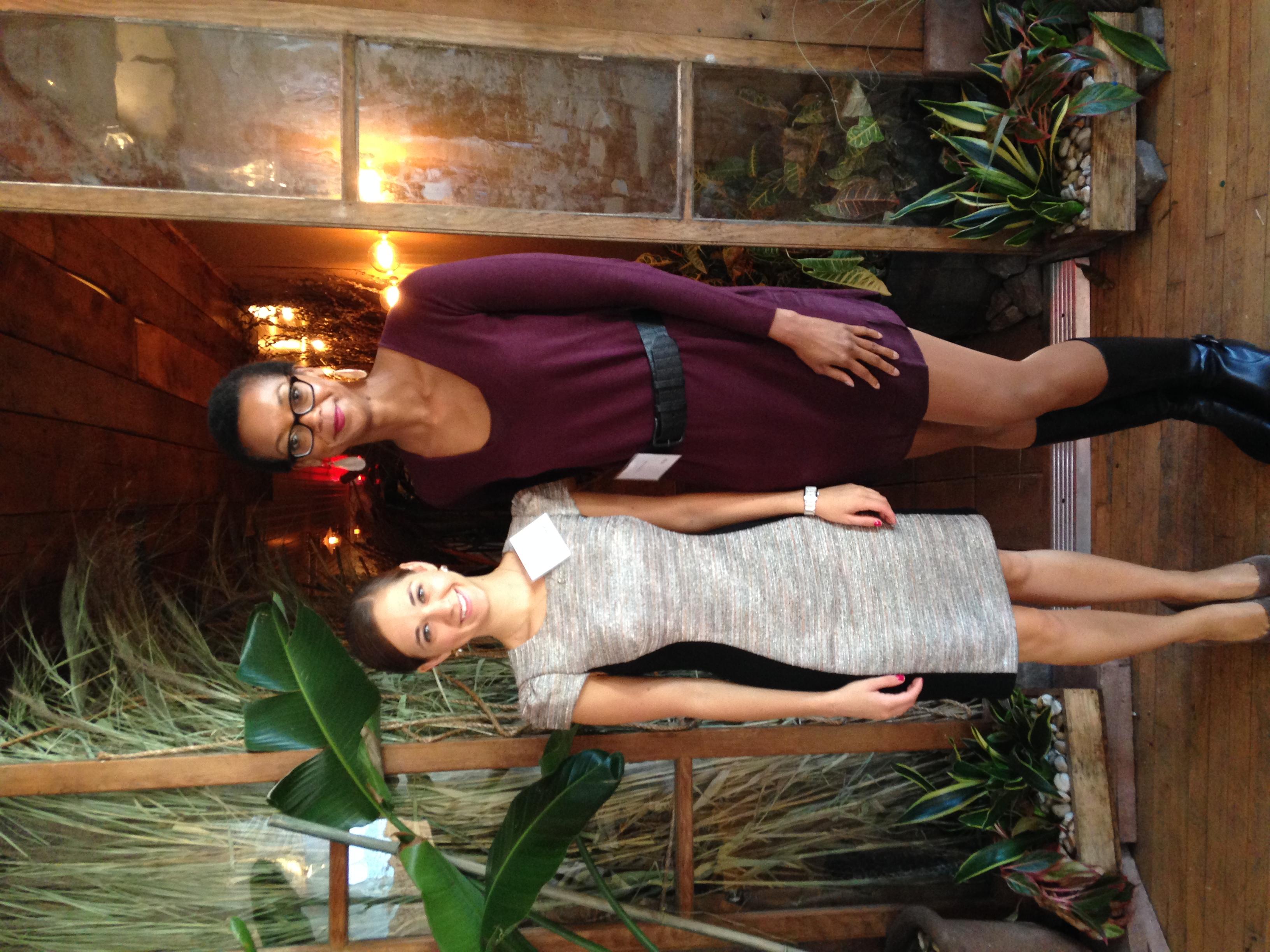 With Jessica Beckhart of Avon.