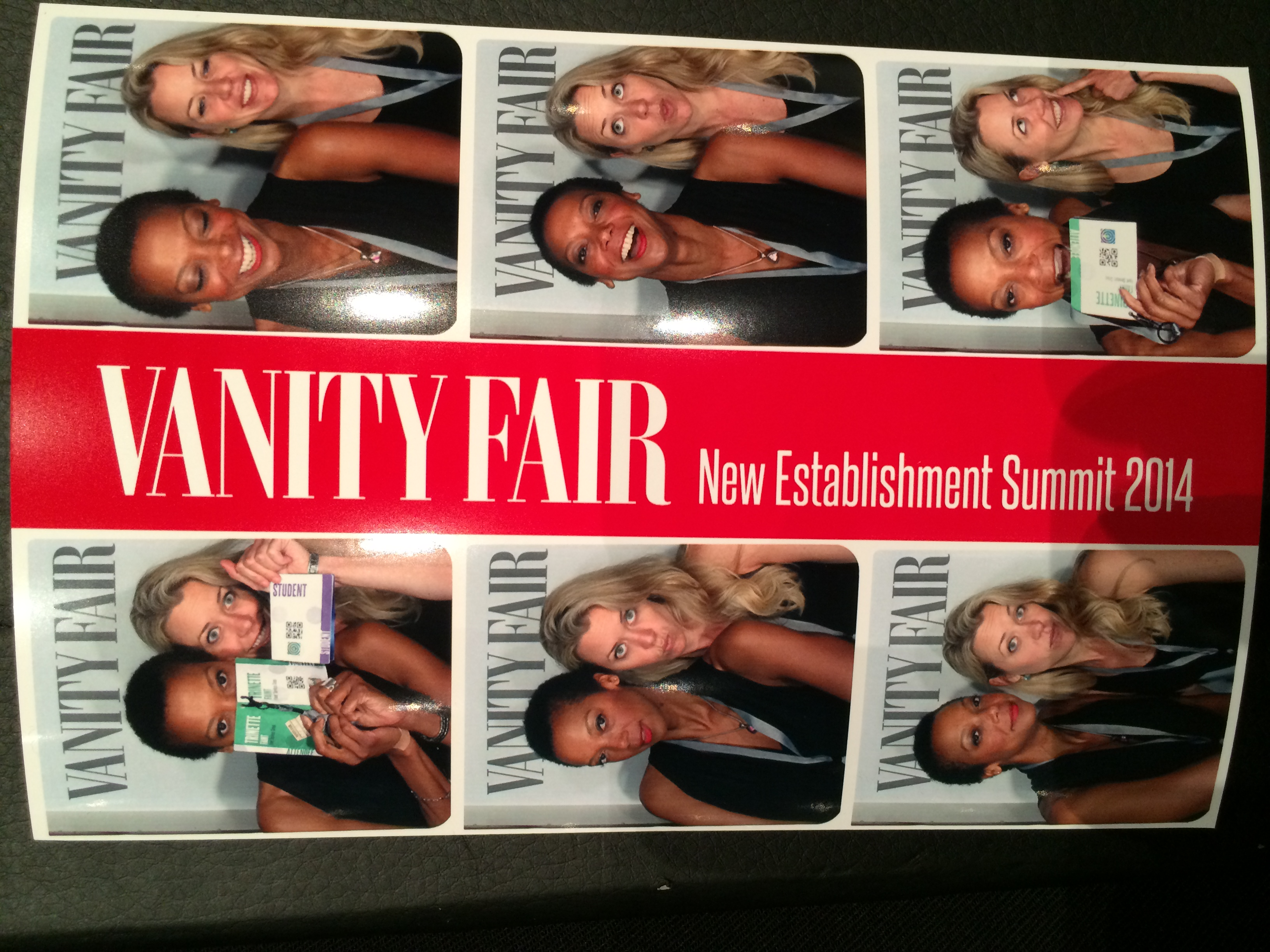 Photo booth funnin' with architect Danielle Wyss.
