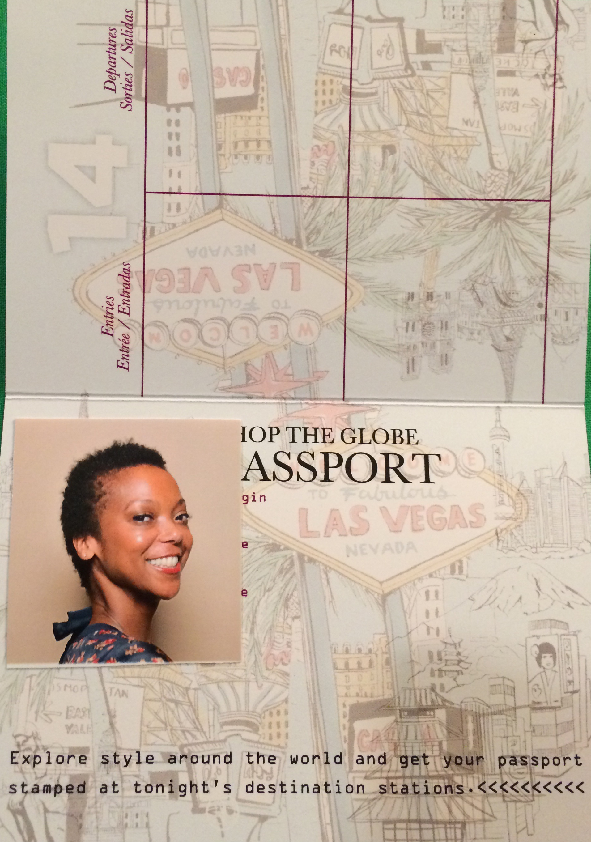 Have Kate Spade passport, will travel!