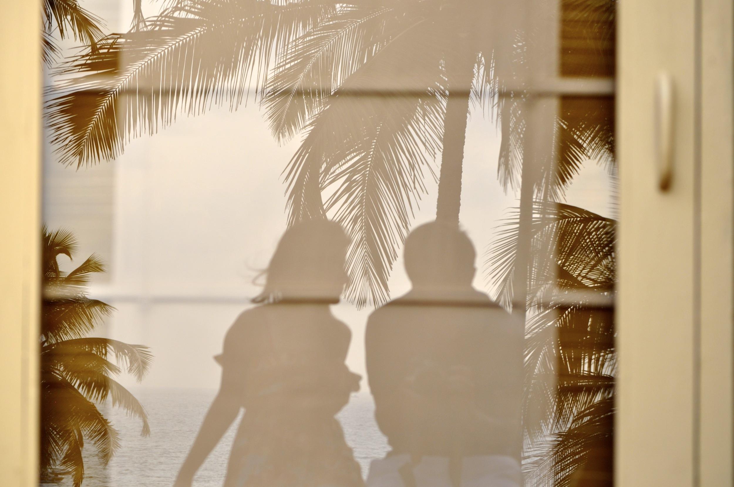 A conversation. Goa. India.