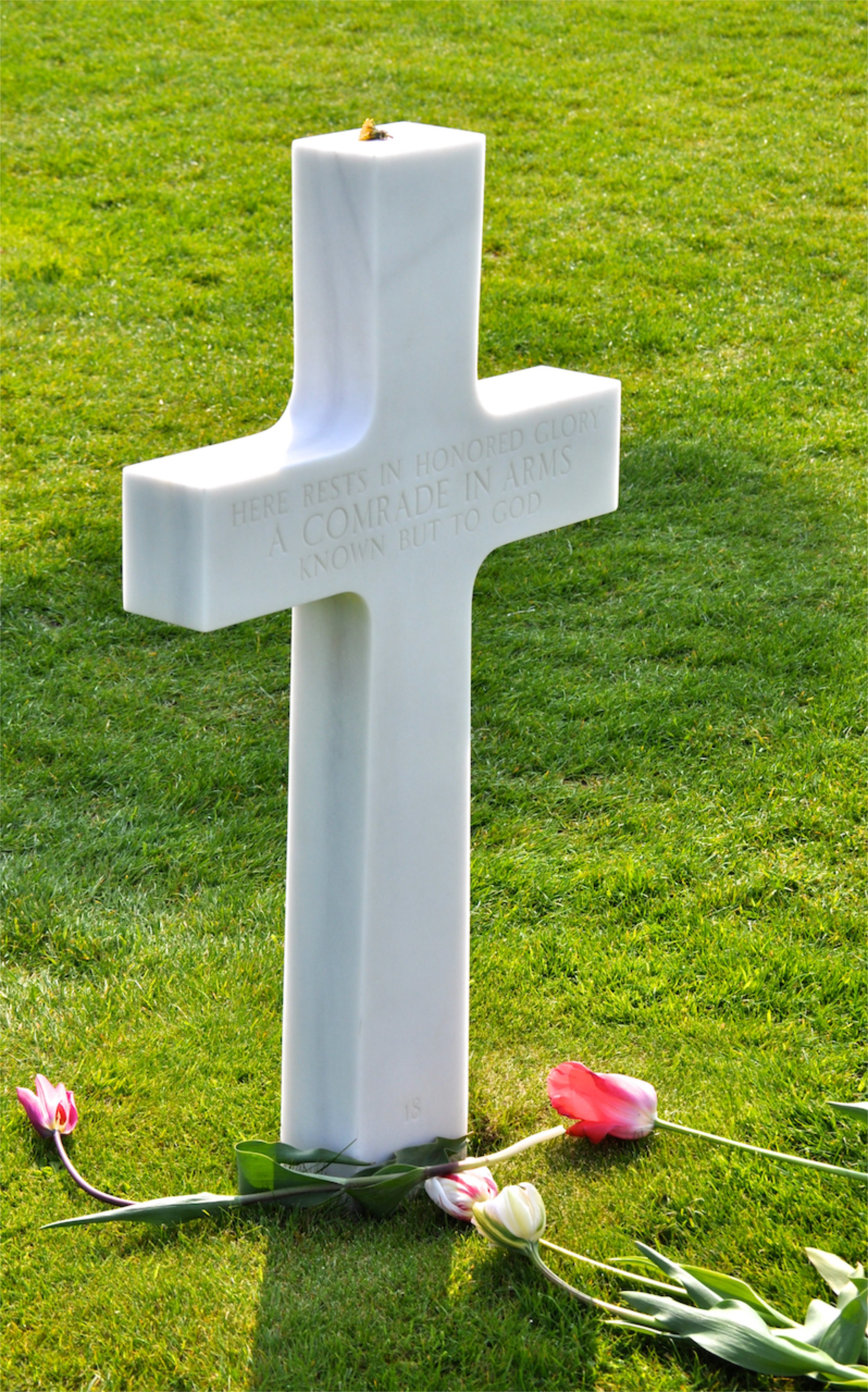 American Cemetery. Normandy. France.