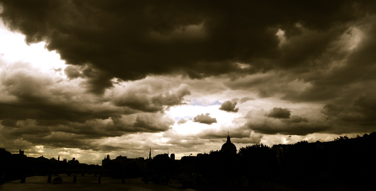 Silhouette. Paris. France.