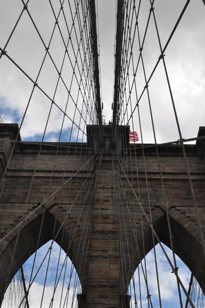 Brooklyn Bridge. New York. United States.