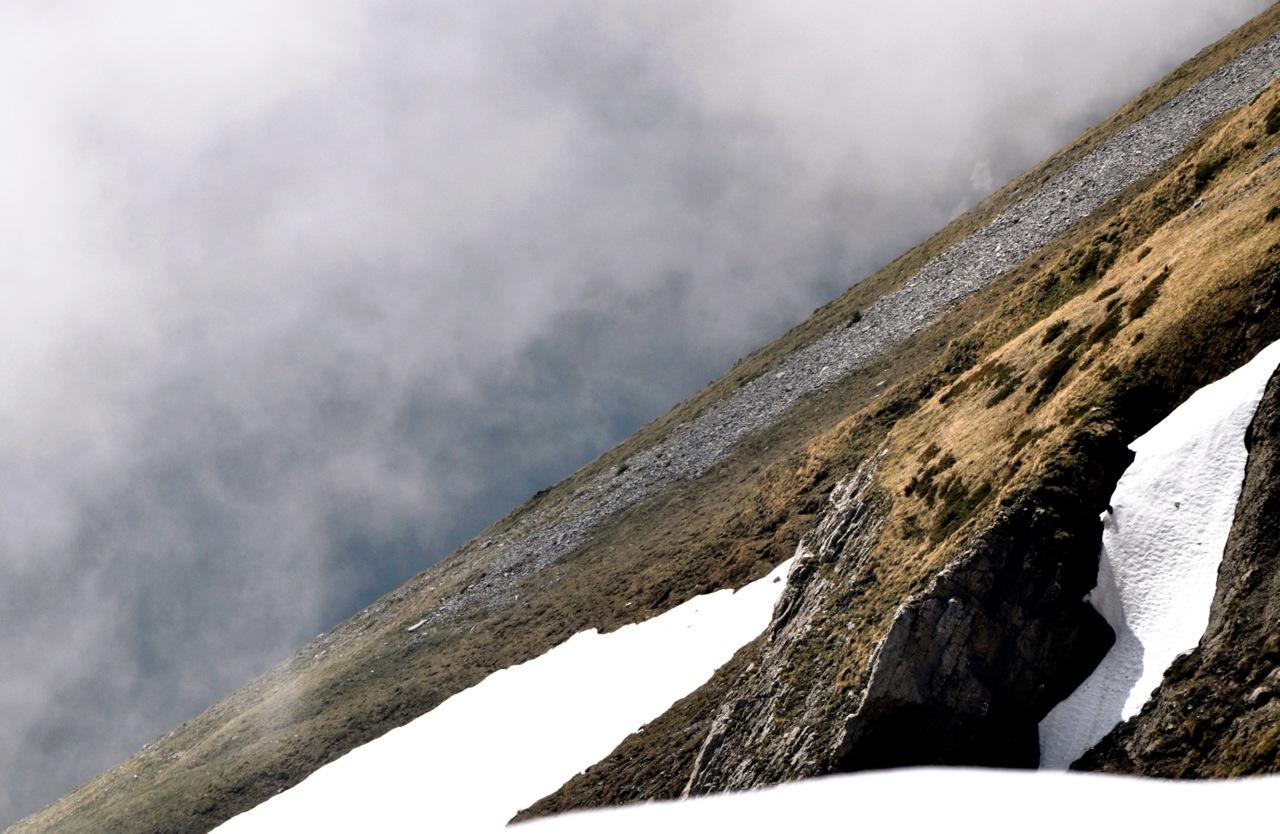 Half Mountains. Half Sky. Switzerland.