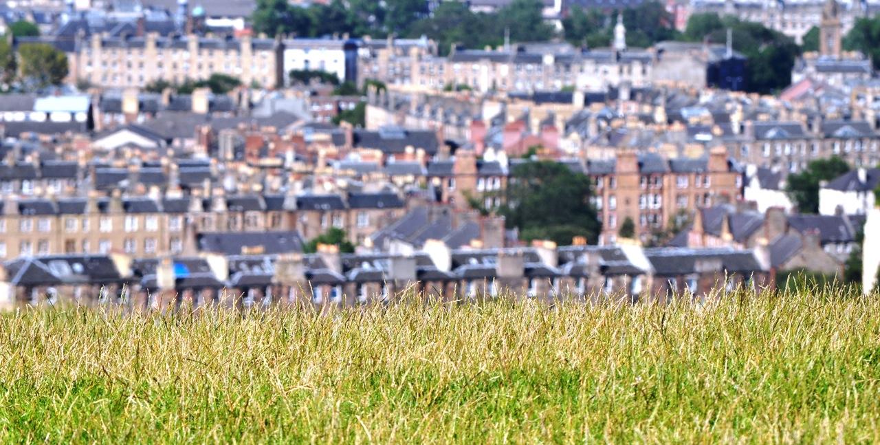 Rooftops. Edinburgh. Scotland.