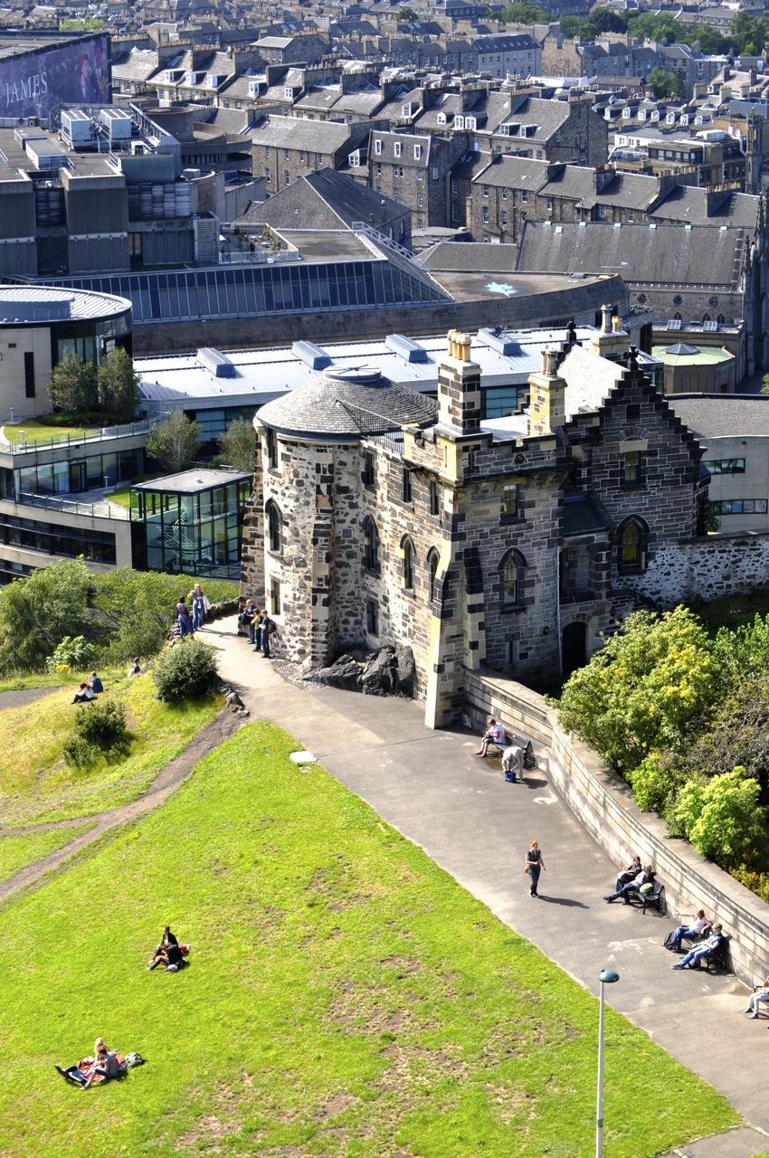 Castle. Castle. Everywhere. Edinburgh. Scotland.