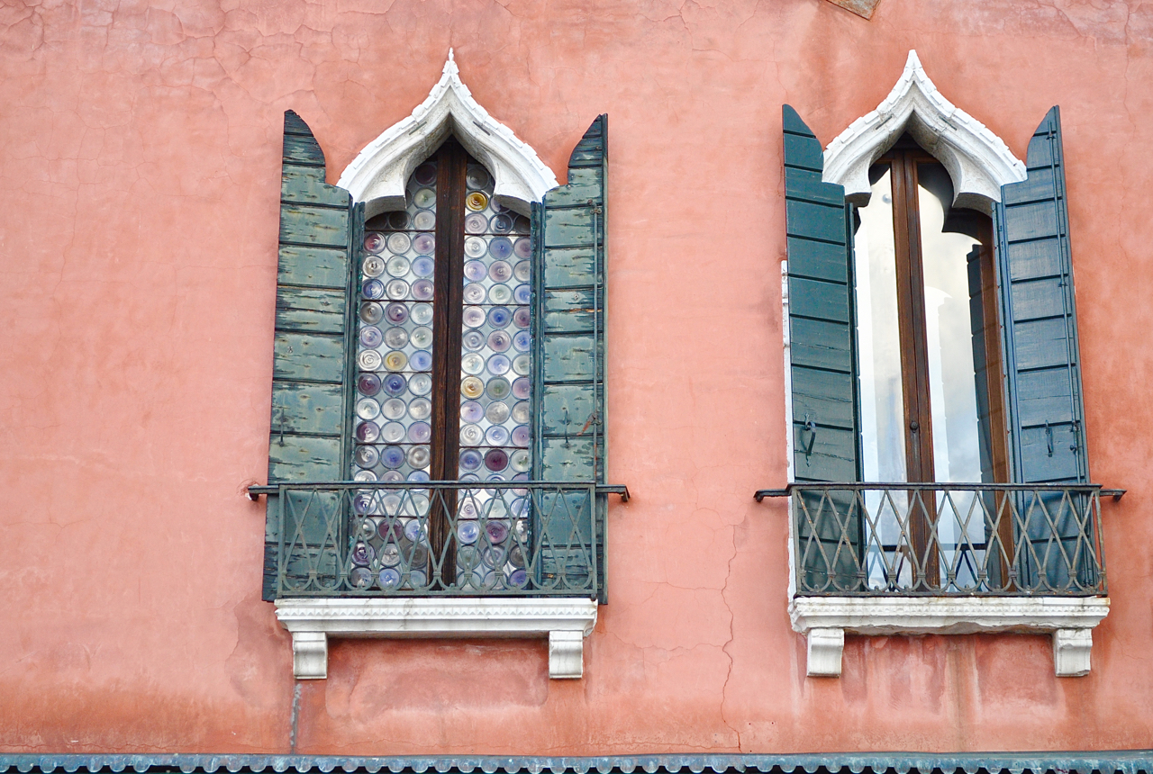 Window to the soul. Venice.