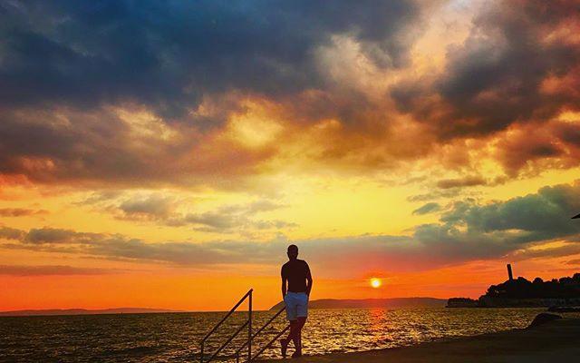 Sunsets and dreams. ... ... ... #sunset #summer #split #croatia #europe #adriatic #photooftheday #picoftheday #travel #travelphotography #instatravel #condenast #lonelyplanet #bbctravel #travelandleisure #natgeotravel #canvasblanche
