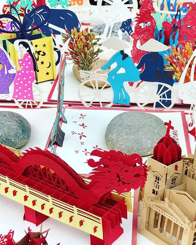 Vietnam and Paper Art! ... ... ... #hochiminhcity #hochiminh #saigon #vietnam #southeastasia #seasia #paperart #travel #travelphotography #travelgram #instatravel #photography #photooftheday #picoftheday #bbctravel #lonelyplanet #natgeotravel #condenast #travelandleisure
